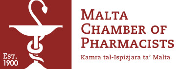 "The Malta Chamber of <span style=""color: #a32928"">Pharmacists</span>"